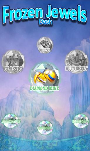 Frozen Jewels Dash Mine