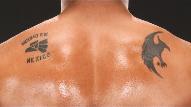 alberto del rio tattoos