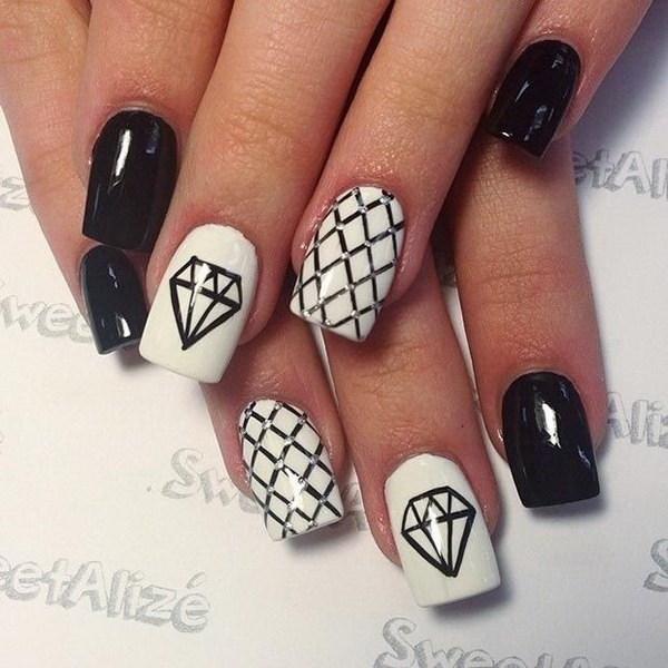 37 White Nails Designs and Colors to try in 2018 - Nails C