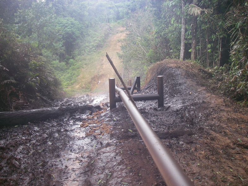 A new spill on July 29 2010 near the community of Nueva Jerusalem in Oil Block 1-AB
