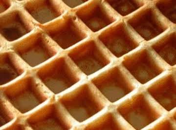 WAFFLES - So good that we had to have them every sunday for years!