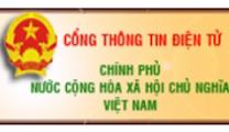 cổng thông tin điện tử của chính phủ Việt Nam