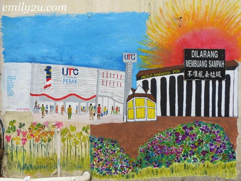 Mural Arts Lane Ipoh