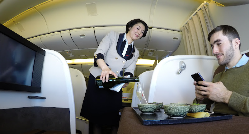 JL%252520F%252520HND LHR 90 - REVIEW - JAL : First Class - Tokyo Haneda to London (B77W)