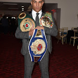 OIC - ENTSIMAGES.COM - Rob Reid - Super Middleweight Champion of the Wolrd - WBC - IBO and WBF at the  Britz go Bollywood - Ark Royal Banquet Hall  in London 29th February 2016 Photo Mobis Photos/OIC 0203 174 1069
