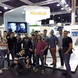 2015-02 Equips i Instal·lacions Electriques visiten Fira de Barcelona