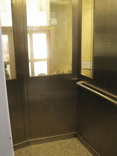 サグラダファミリアエレベーター@バルセロナ