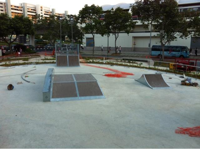 Lion City Skaters: Tampines Skate park FAILURE