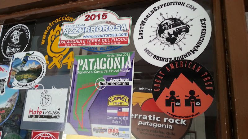 Great American Trek sticker - Paso Roballos