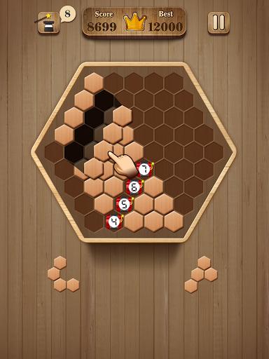 Wooden Hexagon Fit: Hexa Block Puzzle 1.0.1 screenshots 7