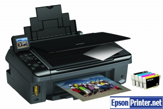 How to reset Epson SX410 printer