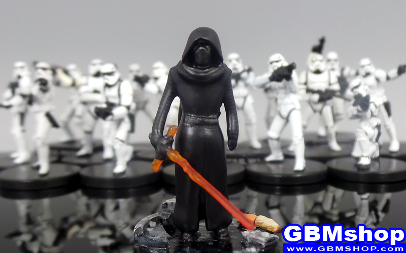 star wars miniature Imperial Assault Kylo Ren Star Wars Miniatures Episode VII 7 The Force Awakens Custom Customize and Painting