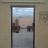 "Doorway to the church called ""El Tabernaaculo"""