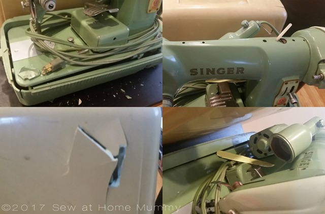 Dismantling and cleaning of a Singer 185k Sew at Home Mummy Singer 185k Featherweight alternative
