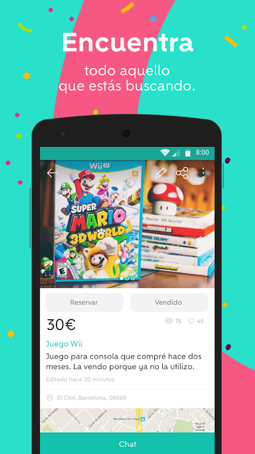 Wallapop aplicaciones de android en google play for Wallapop mesas