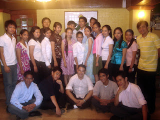 April 5: Second Year Students together with Sir Jeff and Sir Jojo