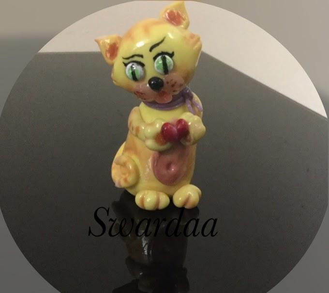 Feline Finger Puppet