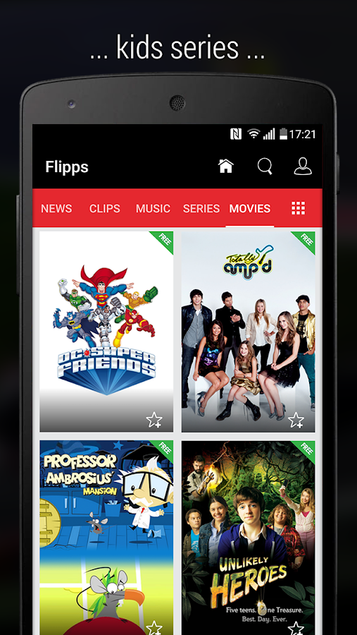Flipps – Movies, Music & News- screenshot