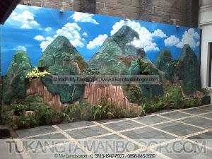 Tukang Taman Murah - Relief Lukisan Dinding