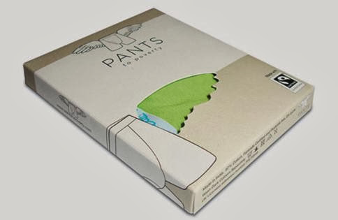 packaging for pants , packaging celana