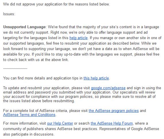 AdSense now understands Bengali (Bangla) - AdSense Help