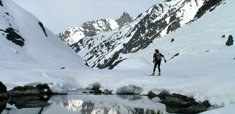 Crust Ski To Reed Lakes - P5190094.JPG