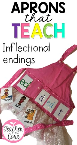 These Show and Tell aprons help you teach skills in a fun and exciting way