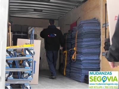Agencia de mudanzas en Segovia