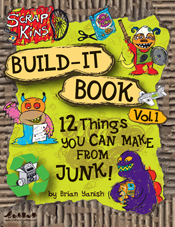 UPenn and recycle and green and Scrap Kins Build-it Book
