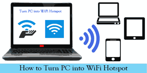How To Turn Your PC To Wifi Hotspot