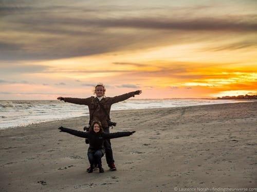 Sunset Folly Beach Charleston