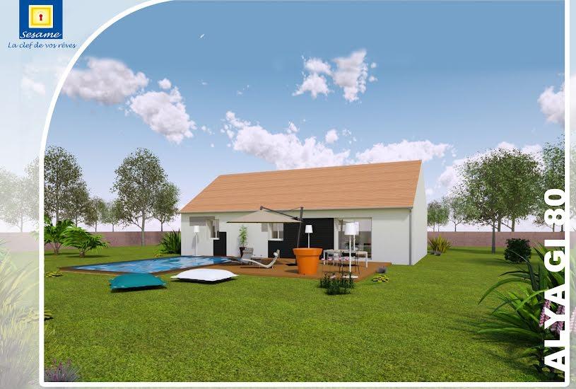 Vente Terrain + Maison - Terrain : 513m² - Maison : 80m² à Nangis (77370)