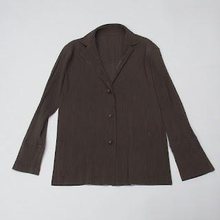 Issey Miyake Brown Jacket