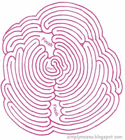 Maze Number 63: Blossom