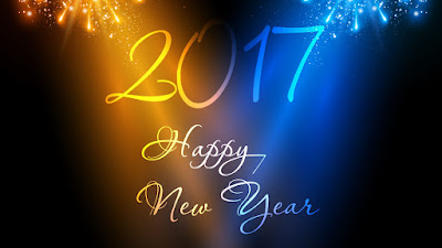 Happy New Year 2016 celebration background easy all editable