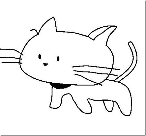 gato a colorear pintaryjugar  (18)