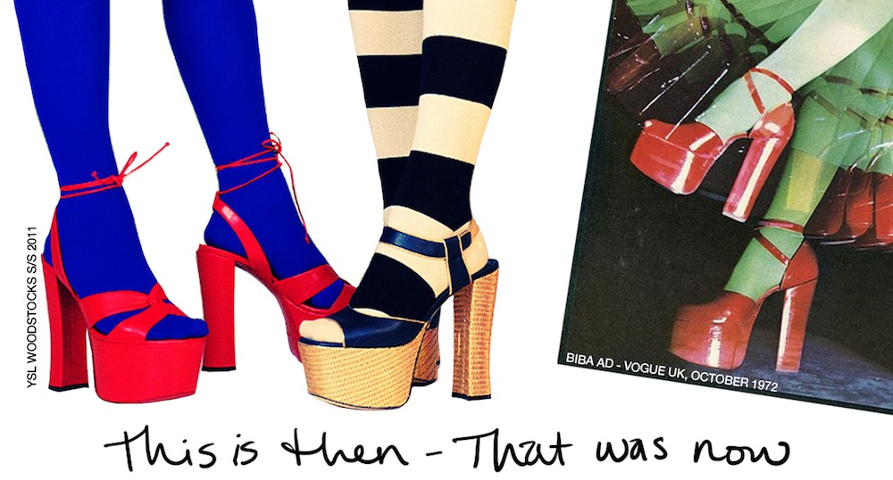 This is Then That was Now [YSL vs Biba]