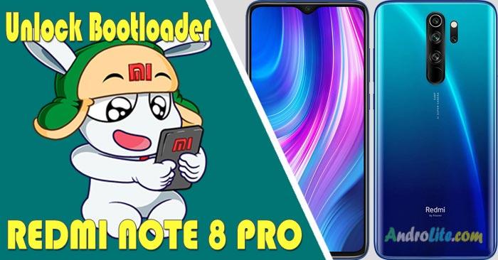 UBL Unlock Bootloader Redmi Note 8 Pro