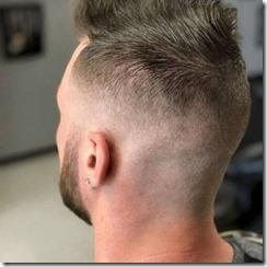 Low fade mens haircut
