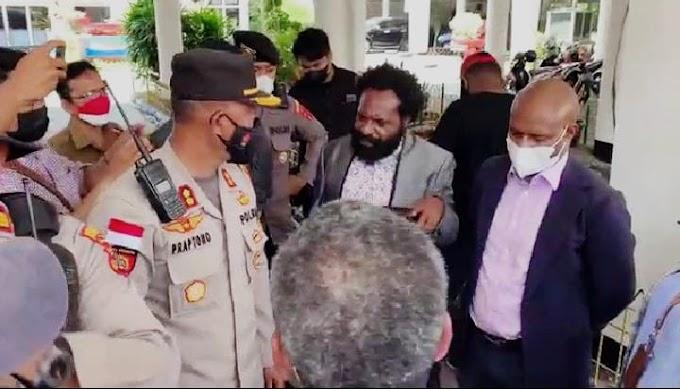 Yance Mote Desak Kapolda Papua Klarifikasi tindakan oknum polisi berlebihan terhadap Tokoh Agama