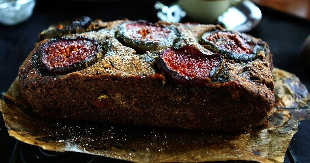 Fresh Fig Freekeh Chai Bread (Dairy Free, Egg Free, Vegan)