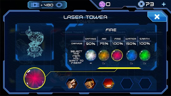 Module TD. Sci-Fi Tower Defense- screenshot thumbnail