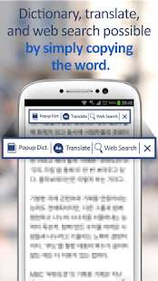 Popup Dictionary-Translate,Web - náhled