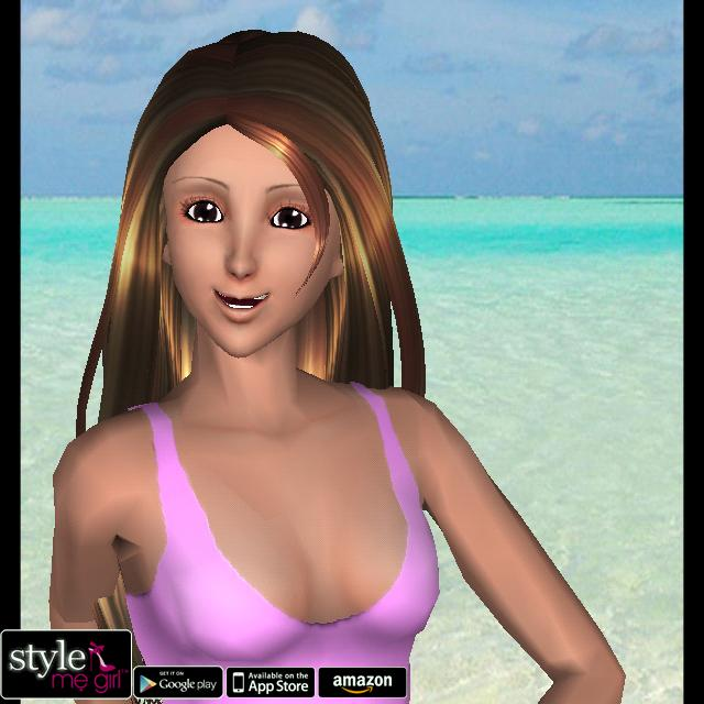 Style Me Girl Level 9 - Beachwear - Fara