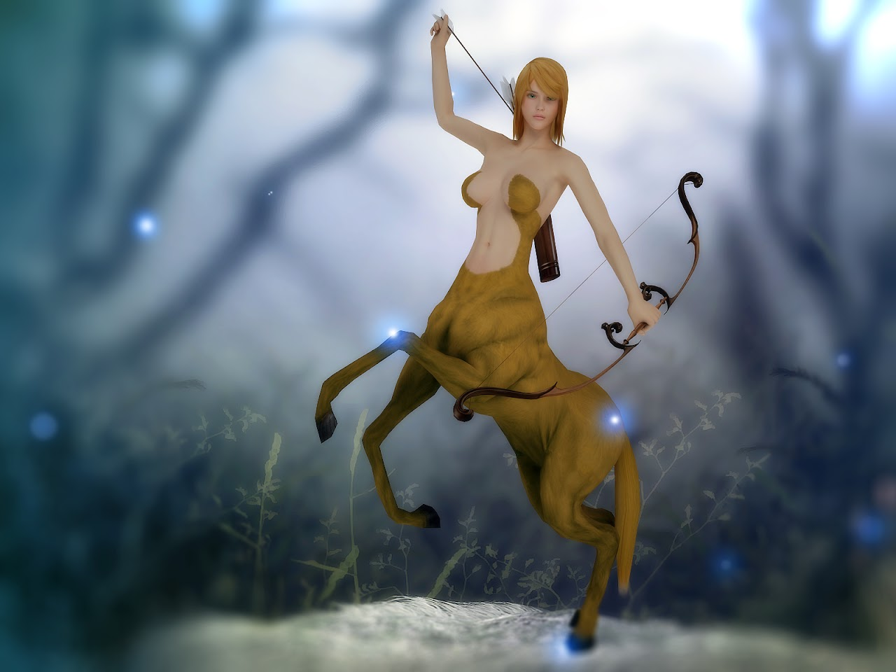 [3dFoin] Female centaur - 55% off all items Spring Sale 00
