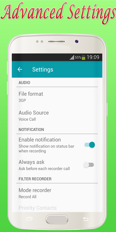 Auto Call Recorder : Automatic call recorder android apps on google play