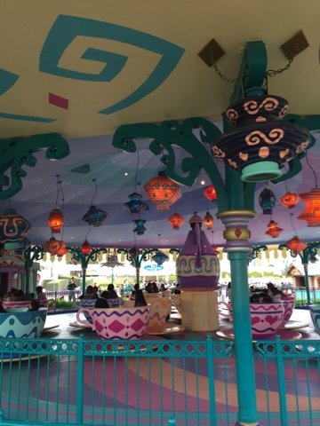 Teacups at Tokyo Disneyland