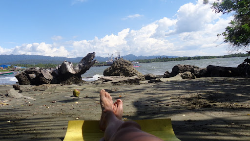 Набире Новая Гвинея пристань