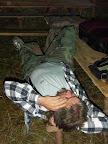 houbař spí