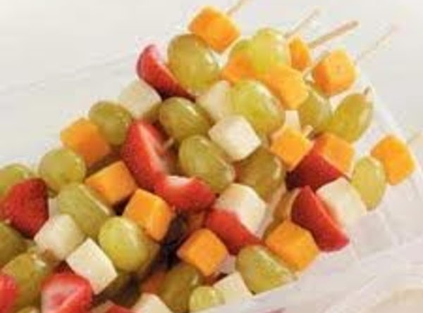Fruit & Cheese Kabobs Recipe